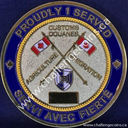 Canada Border Services Agency CBSA - Retired