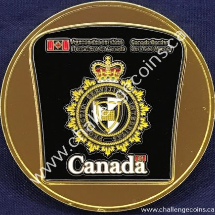 Canada Border Services Agency CBSA - Shoulder Badge