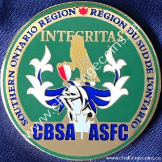 Canada Border Services Agency CBSA - Southern Ontario Region Green