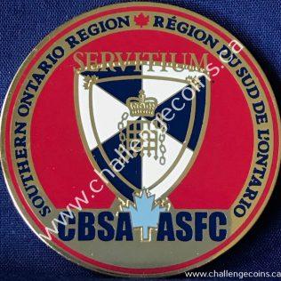 Canada Border Services Agency CBSA - Southern Ontario Region Red