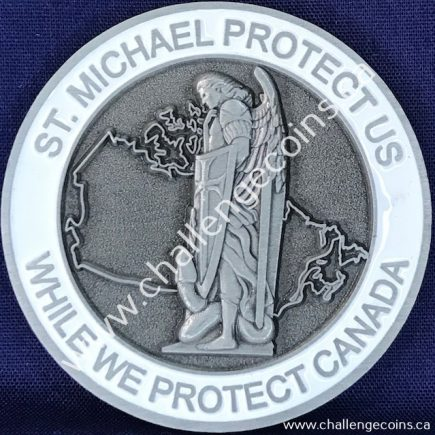Canada Border Services Agency CBSA - St Michael Protect Us White