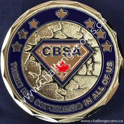 Canada Border Services Agency CBSA - Superhero English