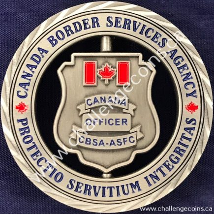 Canada Border Services Agency CBSA - Thin Blue Line