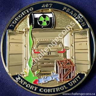 Canada Border Services Agency CBSA - Toronto International Airport Export Control Unit Gold