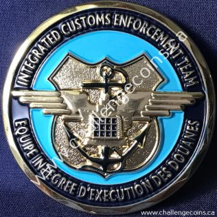 Canada Border Services Agency CBSA - Toronto International Airport Integrated Customs Enforcement Team