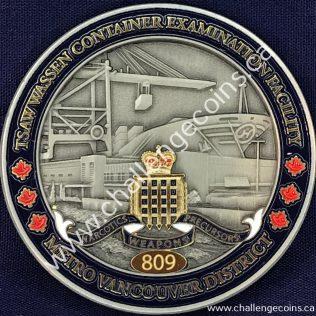Canada Border Services Agency CBSA - Tsawwassen Container Examination Facility