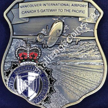 Canada Border Services Agency CBSA - Vancouver International Airport Badge