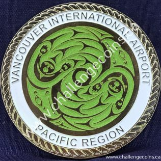 Canada Border Services Agency CBSA - Vancouver International Airport Pacific Region 2020 Green