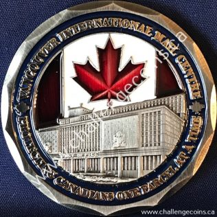 Canada Border Services Agency CBSA - Vancouver International Mail Centre Red