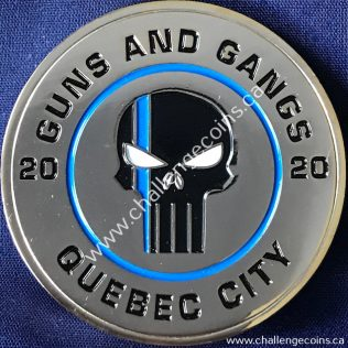 Sûreté du Québec - Guns and Gangs Quebec City 2020